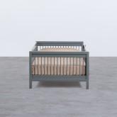 Kinderbett aus Holz Odam für Matratze 110cm, Miniaturansicht 3