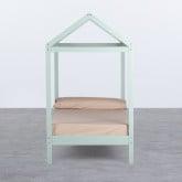 Bett Haus aus Holz Tinna für Matratze 90 cm, Miniaturansicht 2