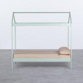 Bett Haus aus Holz Tinna für Matratze 90 cm, Miniaturansicht 3