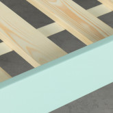 Bett Haus aus Holz Tinna für Matratze 90 cm, Miniaturansicht 6