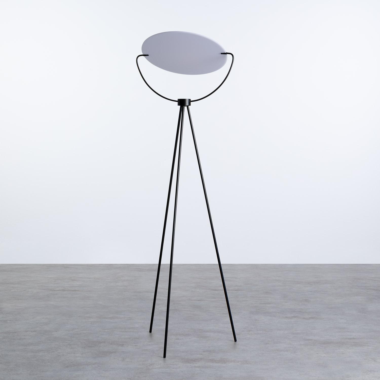 Stehlampe aus Glas und Stahl Munly, Galeriebild 1