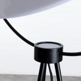Stehlampe aus Glas und Stahl Munly, Miniaturansicht 6