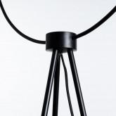 Stehlampe aus Glas und Stahl Munly, Miniaturansicht 8