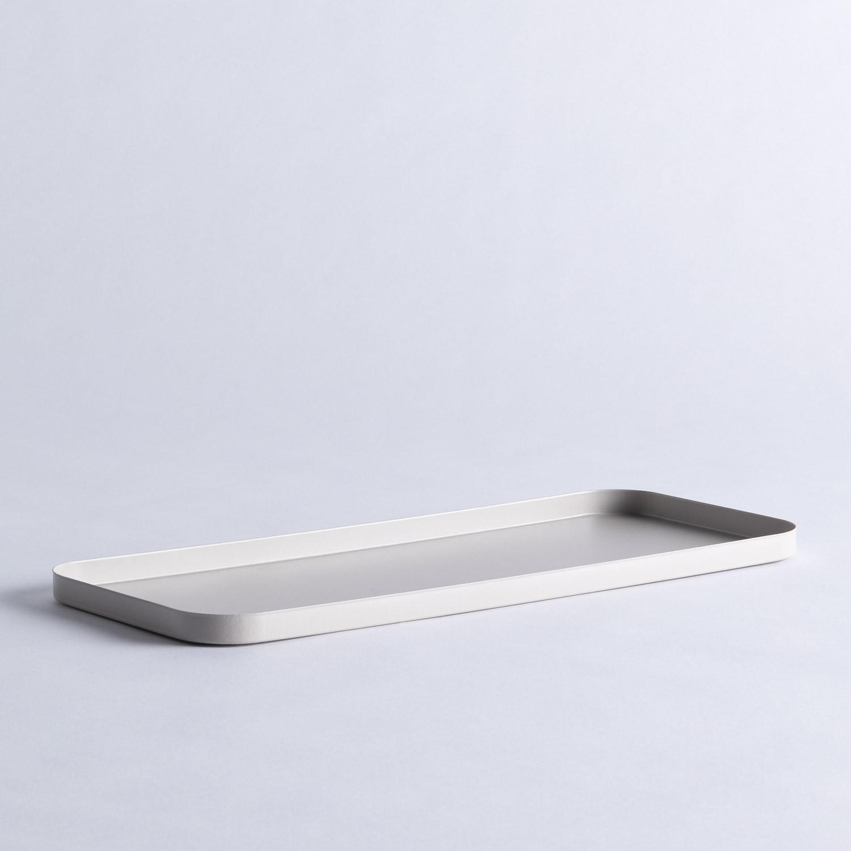 Dekoratives Tablett aus Stahl Lita, Galeriebild 1