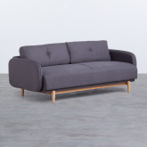 Sofa 3-Sitzer- in Textil Linsi, Miniaturansicht 1