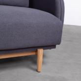 Sofa 3-Sitzer- in Textil Linsi, Miniaturansicht 5