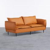 Sofa 3-Sitzer- in Kunstleder Laout, Miniaturansicht 1