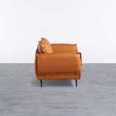 Sofa 3-Sitzer- in Kunstleder Laout, Miniaturansicht 2
