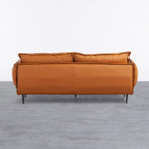 Sofa 3-Sitzer- in Kunstleder Laout, Miniaturansicht 3