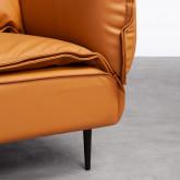 Sofa 3-Sitzer- in Kunstleder Laout, Miniaturansicht 4