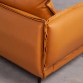 Sofa 3-Sitzer- in Kunstleder Laout, Miniaturansicht 5