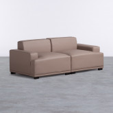 Sofa 3-Sitzer- in Kunstleder Epiama, Miniaturansicht 1