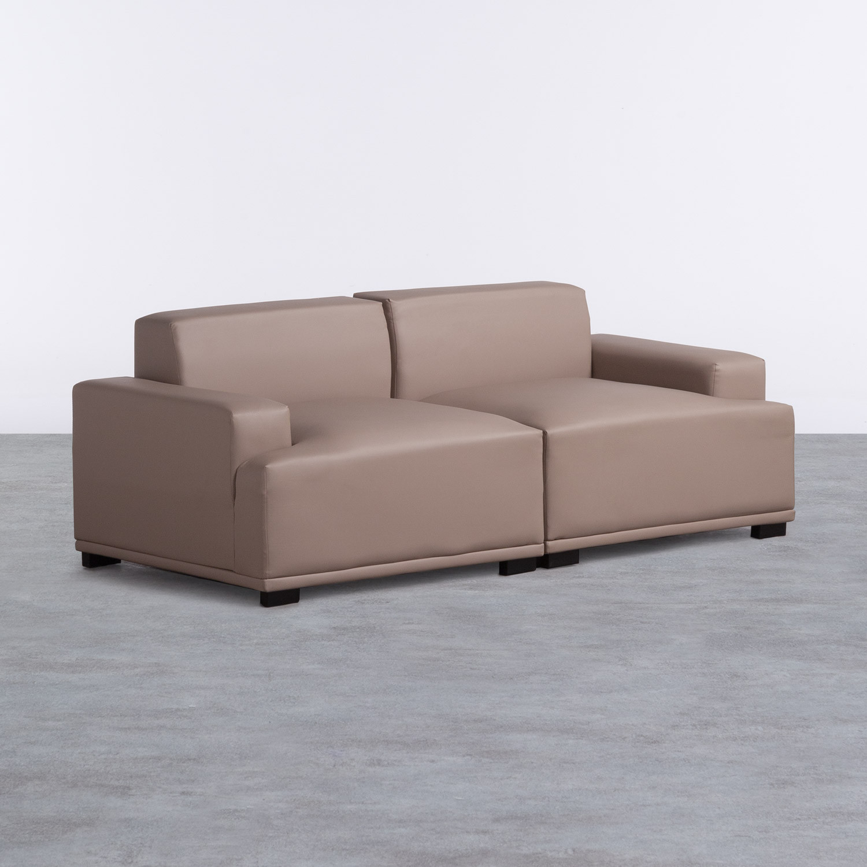 Sofa 3-Sitzer- in Kunstleder Epiama, Galeriebild 1