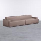 Sofa 4-Sitzer- in Kunstleder Epiama, Miniaturansicht 1