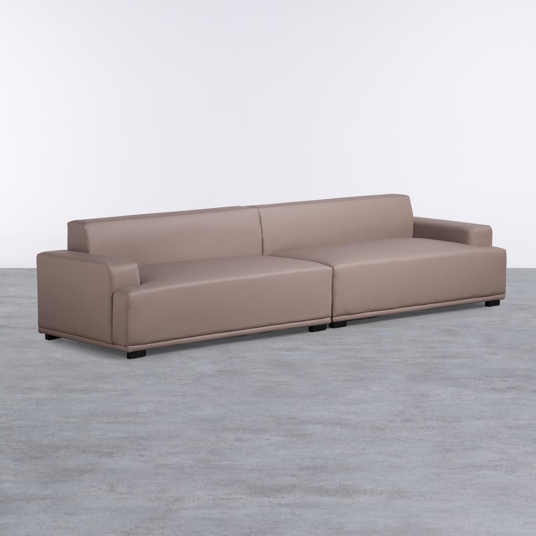 Sofa 4-Sitzer- in Kunstleder Epiama, Galeriebild 1
