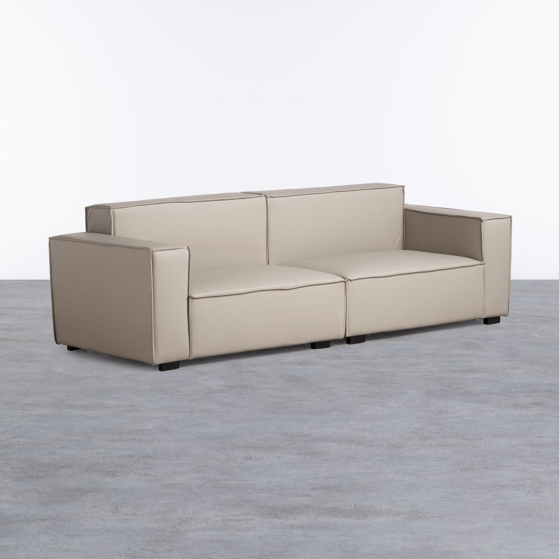 Sofa 4-Sitzer- in Kunstleder Zanqui, Galeriebild 1
