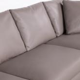 Sofa Chaiselongue rechts 4-Sitzer- aus Kunstleder Tandis, Miniaturansicht 5