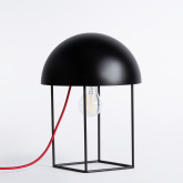 Tischlampe aus Metall Ernest, Miniaturansicht 1
