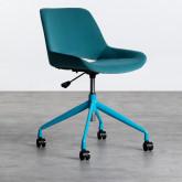 Verstellbarer Bürostuhl mit Räder Silas, Miniaturansicht 3