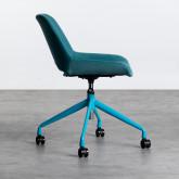 Verstellbarer Bürostuhl mit Räder Silas, Miniaturansicht 4