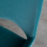 Verstellbarer Bürostuhl mit Räder Silas, Miniaturansicht 8