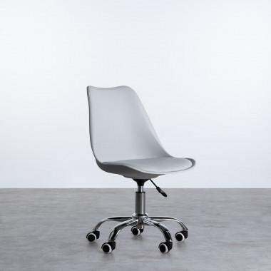 Verstellbarer Bürostuhl mit Räder Freya Scriva
