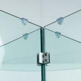 Runder Esstisch aus gehärtetem Glas (Ø137 cm) Vidre Round, Miniaturansicht 5