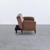 Bettsofa 3-Sitzer- in Samt Lisethe, Miniaturansicht 5
