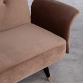 Bettsofa 3-Sitzer- in Samt Lisethe, Miniaturansicht 9