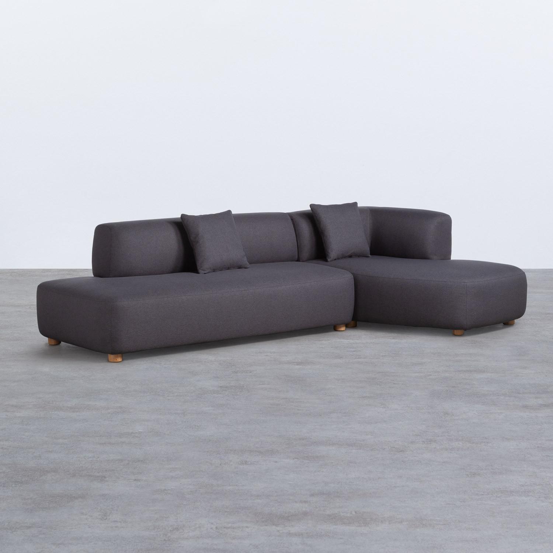 Sofa Chaise Longue Rechts -3 Sitzer- aus Stoff Inghot , Galeriebild 1