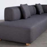 Sofa Chaise Longue Rechts -3 Sitzer- aus Stoff Inghot , Miniaturansicht 4
