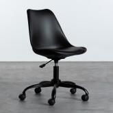 Verstellbarer Bürostuhl mit Räder und Höhenverstellbar Futur, Miniaturansicht 1