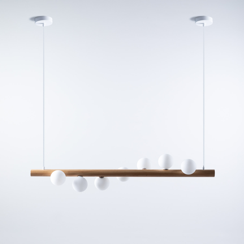 LED Lampe aus Holz Serp, Galeriebild 1