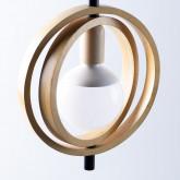 Lampe aus Holz Gemma, Miniaturansicht 4