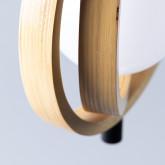 Lampe aus Holz Gemma, Miniaturansicht 5