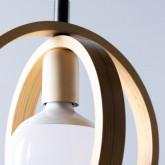 Lampe aus Holz Gemma, Miniaturansicht 6
