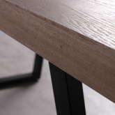 Esszimmer Tisch Rechtecking aus MDF (190x90 cm) Valle, Miniaturansicht 6