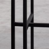 Konsole aus Marmor und Stahl Danna, Miniaturansicht 7