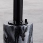 Garderobenständer aus Polykarbonat und Mármol (100x60 cm) Liuva, Miniaturansicht 3