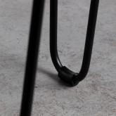 Beistelltisch/niedriger Hocker aus Naturrattan Kure (Ø35 cm), Miniaturansicht 6