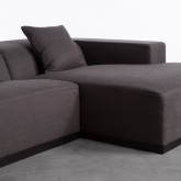 Chaiselongue links und 3-Sitzer-Sofa aus Stoff Tamam, Miniaturansicht 5