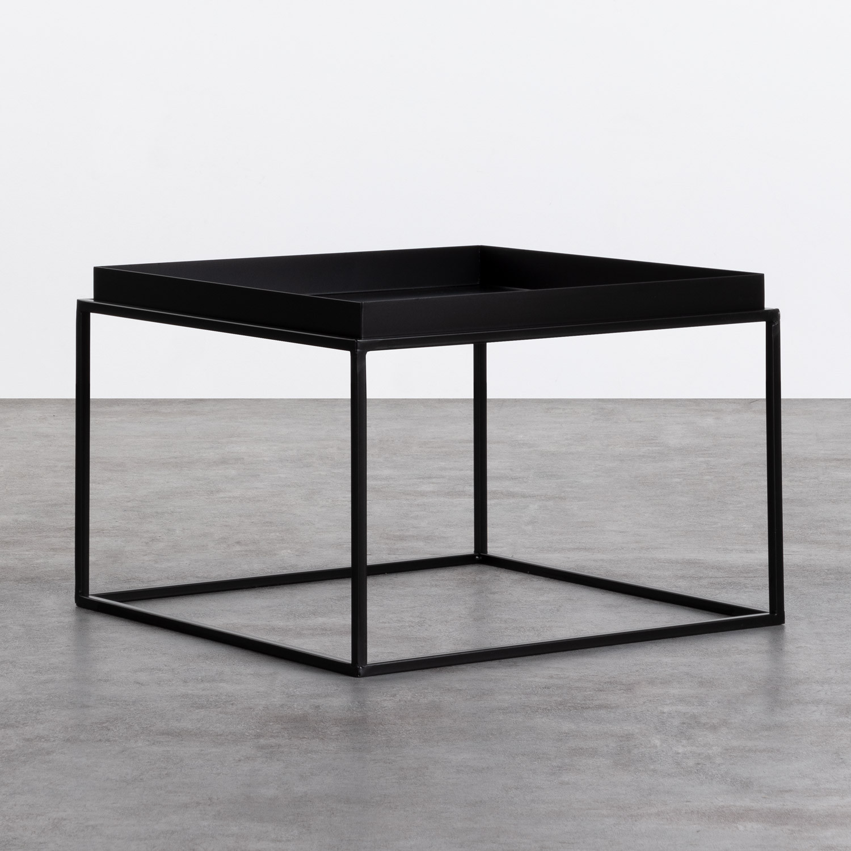 Beistelltisch Quadratisch aus Metall (59x59 cm) Cubo, Galeriebild 1