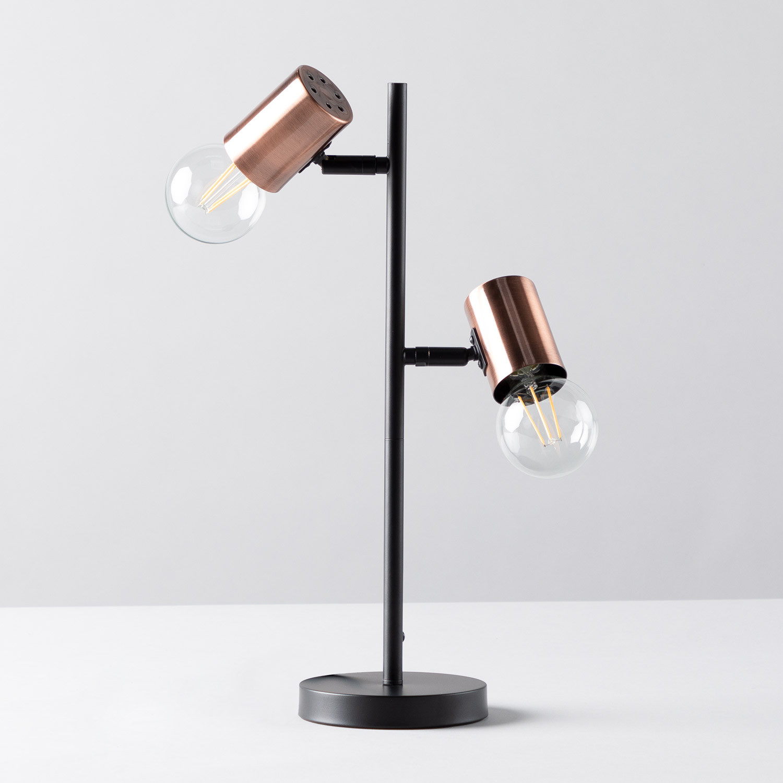 Tischlampe aus Hierro Saxo, Galeriebild 1