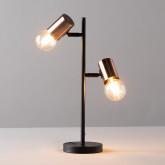 Tischlampe aus Hierro Saxo, Miniaturansicht 3