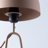 Tischlampe aus Metall Cham, Miniaturansicht 7
