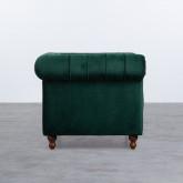 Sessel mit Armlehnen aus Samt Velluto, Miniaturansicht 3
