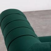 Sessel mit Armlehnen aus Samt Velluto, Miniaturansicht 5