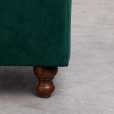 Sessel mit Armlehnen aus Samt Velluto, Miniaturansicht 6