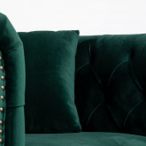 Sessel mit Armlehnen aus Samt Velluto, Miniaturansicht 8