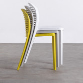 Outdoor-Stuhl aus Polypropylen Wave, Miniaturansicht 2